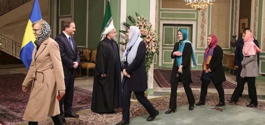 ministras Suecia con velo en Iran 2017