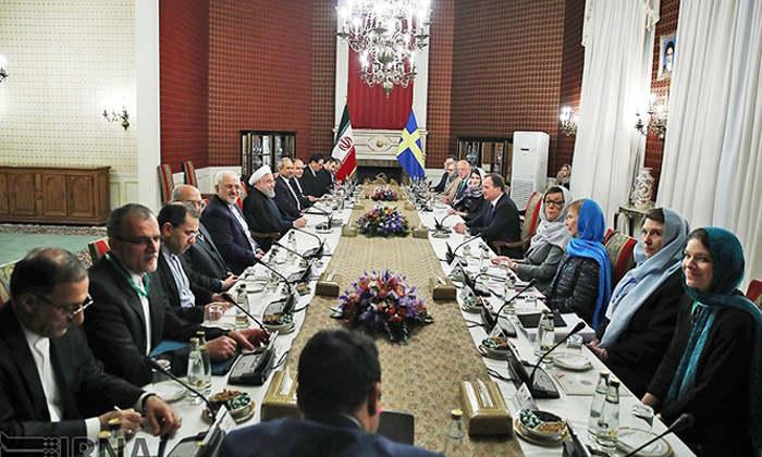 ministras Suecia con velo en Iran 2017 a