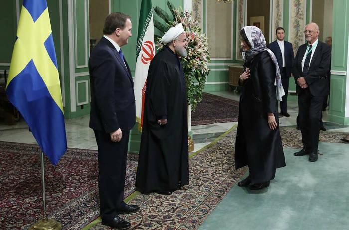 ministras Suecia con velo en Iran 2017 c