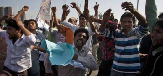 protestas cristianos lahore Pakistan