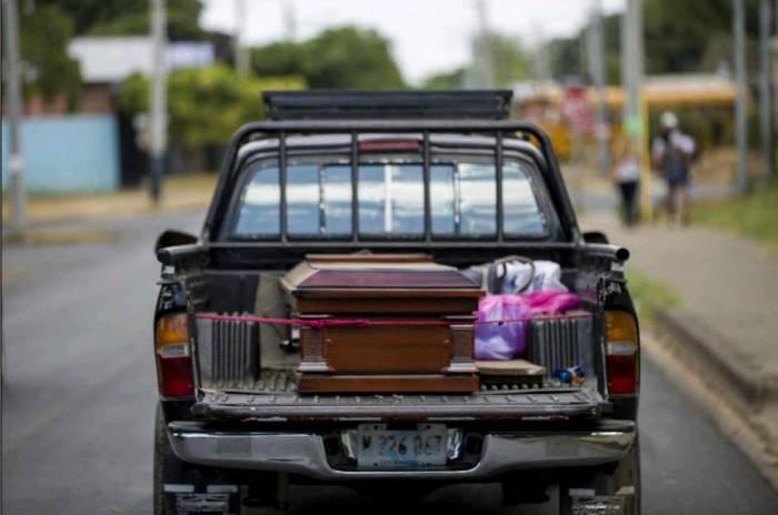 quemada mujeer en Nicaragua por brujeria 2017