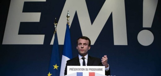 Emmanuel Macron candidato presidencial Francia 2017