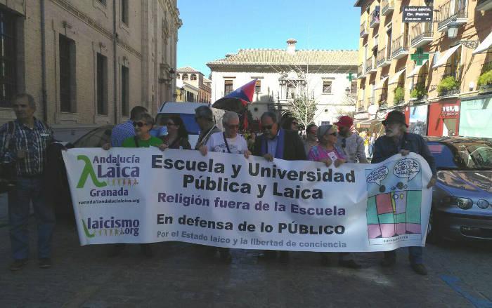 Granada huelga 9M 2017 a