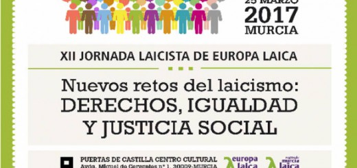 Jornada Europa Laica Murcia 2017