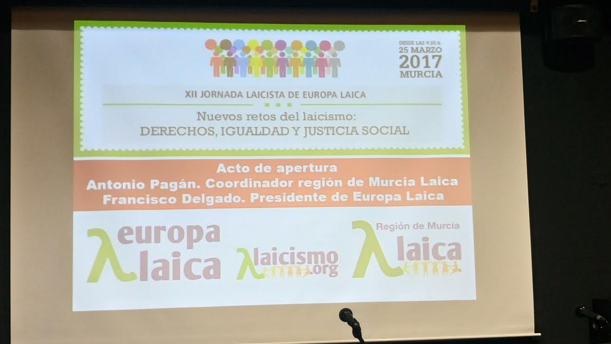 Jornada Laicista 2017 Murcia 1