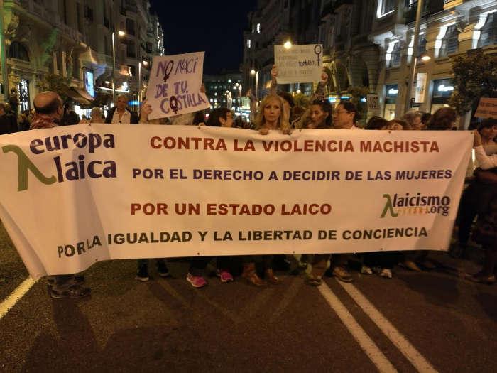Madrid 8M 2017 a