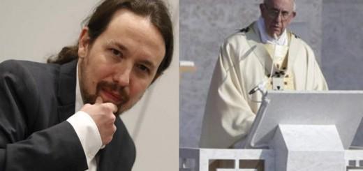 Pablo Iglesias y Bergoglio 2017