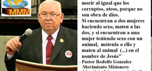 Pastor Rodolfo Gonzalez