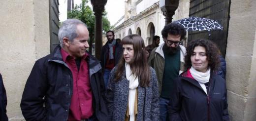 Podemos y Ganemos patio naranjos mezquita Cordoba 2017