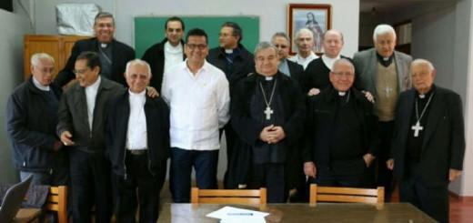 Secretaria seguridad y obispos Michoacan Mexico 2017