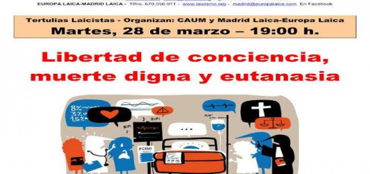 Tertulia Madrid marzo 2017 eutanasia