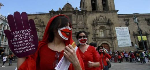 activista aborto en Bolivia 2013