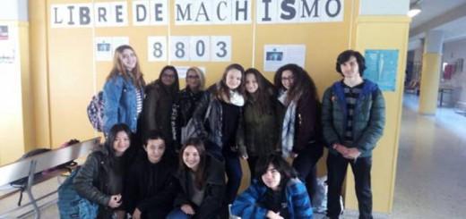 alumnos instituto Malilla de Valencia musica machista 2017