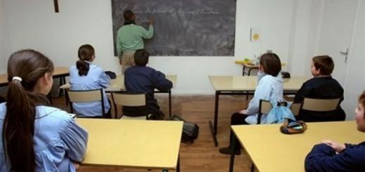 clase aula religion