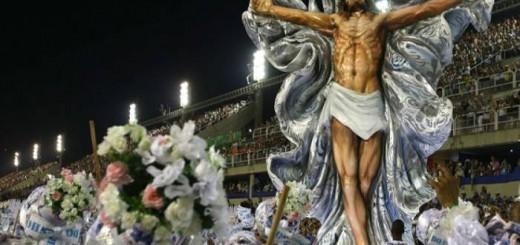 cristo carnaval 2017 Rio de Janeiro