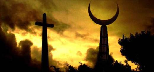 cruz y media luna