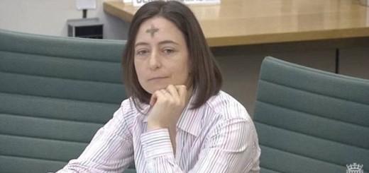 diputada catolica Parlamento Reino Unido con ceniza 2017