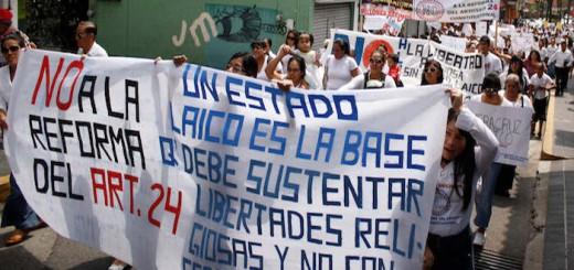 estado laico reforma constitucional Mexico