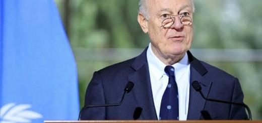 mistura enviado ONU a Siria 2017