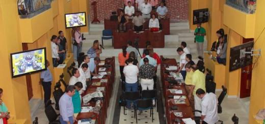 oracion obligatoria concejo Cartagena de indias Colombia