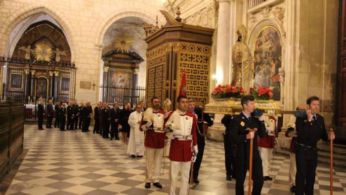 procesion san Patricio policia local Murcia 2017