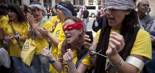 protesta recortes guarderias municipales 2012 Barcelona