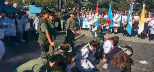 simulacro fusilamiento escolar Argentina 2017