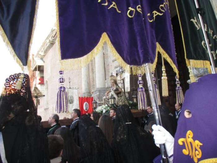 Angustias procesion Medina del Campo 2017