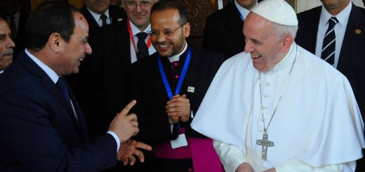 Bergoglio en Egipto 2017