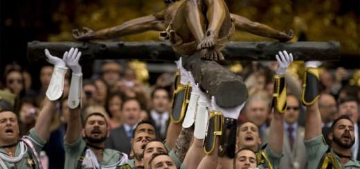 Cristo de Mena legionarios Malaga medalla 2017