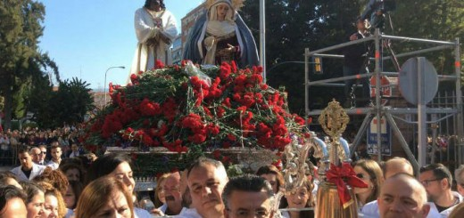 Jesus cautivo procesiona hospital civil Malaga 2017