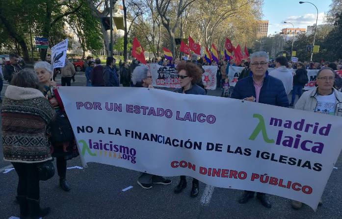 Manifestacion Madrid Presupuestos 2017 a