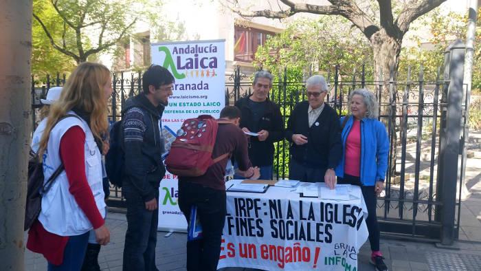 Mesa IRPF Granada 2017 04 04