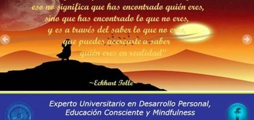 Mindfulness y desarrollo personal Universidad de Almeria 2017