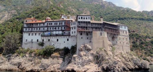 Monte Athos Grecia Monasterio