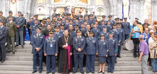 Peregrinacion militar a Lourdes 2011