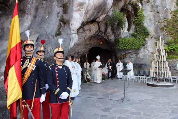 Peregrinacion militar a Lourdes 2016