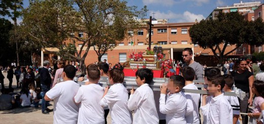 Procesion escolar CEIP Pablo Picasso Malaga 2017 c