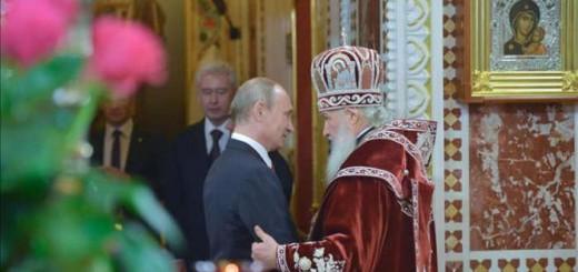 Putin felicita la Pascua ortodoxa 2017