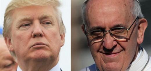 Trump y Bergoglio