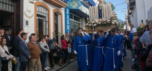 alcalde de Marbella procesion juvenil Amargura 2017
