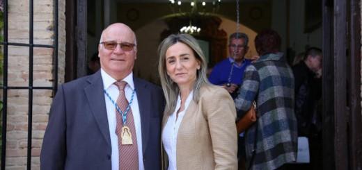 alcaldesa Toledo misa virgen de la cabeza 2017
