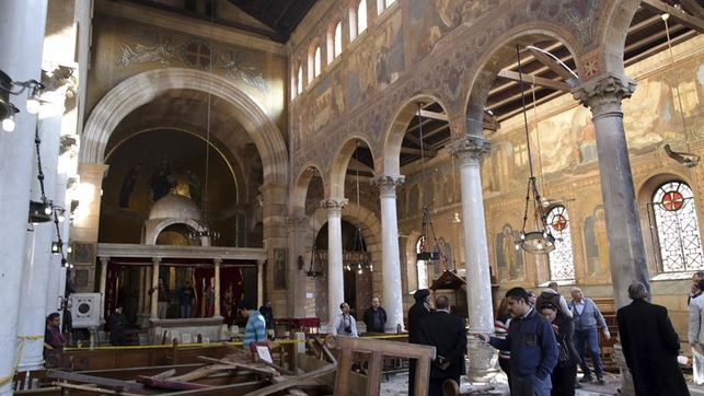 atentado iglesia copta Egipto 2017