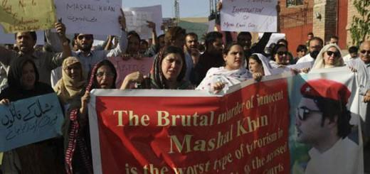 blasfemia-asesinato protesta Pakistan 2017