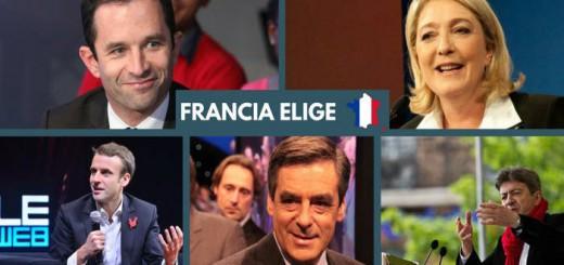 candidatos francia 2017