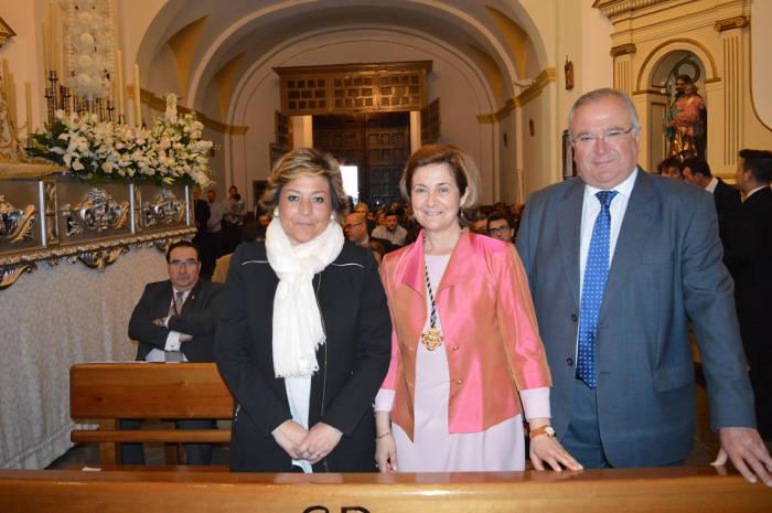 concejala Talavera misa cofrade 2017 a