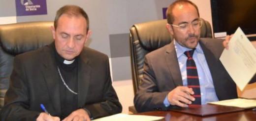 convenio Diputacion y obispado Soria restaurar 2017