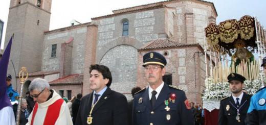 david-perez-alcorcon alcalde preside procesion