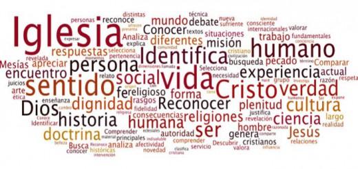 nube palabras curriculo Religion 2017