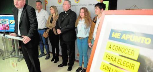 obispado Cartagena Murcia alumnado religion